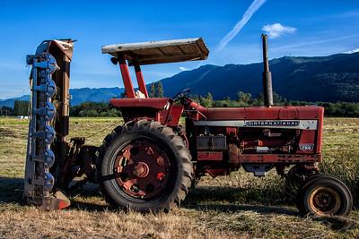 International Tractor Mower Meadowbrook Farm 6-17-15