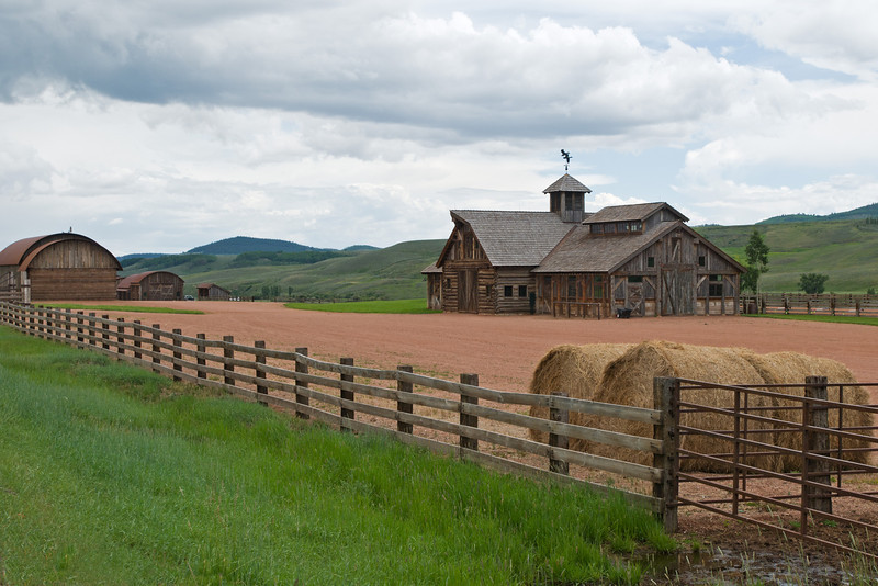 Old barn in Colorado