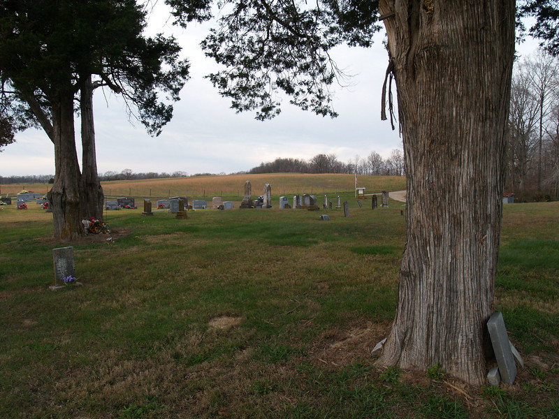 Pulliam Cemetery, Mayflied, MO