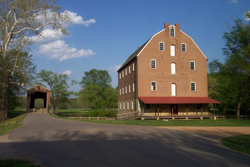 Bollinger Mill & Covered Bridge, Burfordville, MO