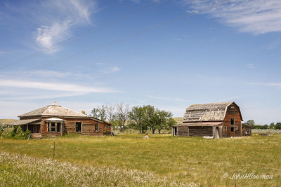 Abandoned Farmstead - Williams County (ND)