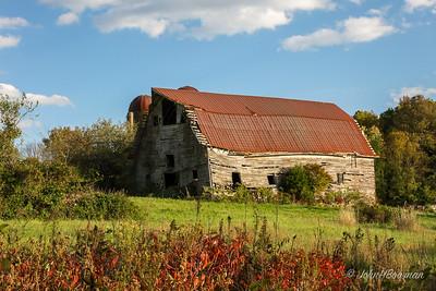 Falling Barn - Amelia County (VA)