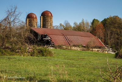 Fallen Barn - Amelia County (VA)