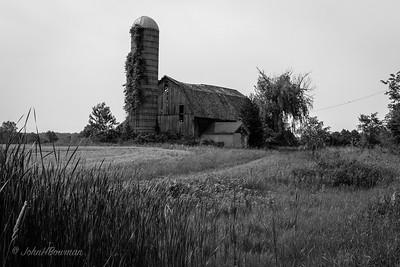 Swayback Barn - Washtenaw County (MI)