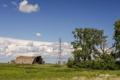 Farm Remnants - Canadian Prairie (SK)