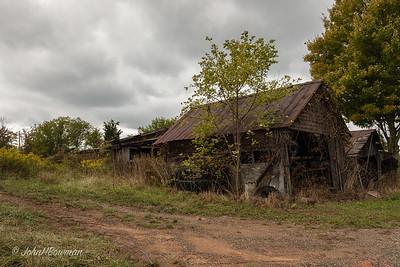 Abandoned, B&W - Washington County, Ohio