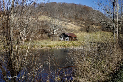 Derelict Shed - Gilmer County (WV)