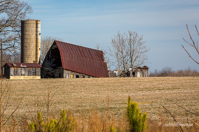 Fallen Barn - New Kent County (VA)