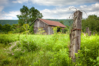 Old Barn near Stryker Rd.
