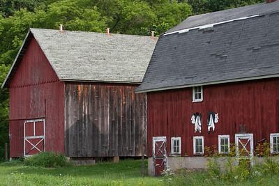 Pair of Barns
