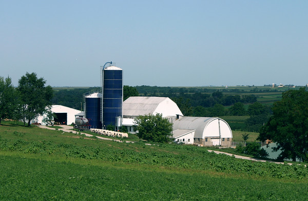 Barn and Harvestores