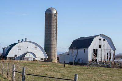 Variety of Barns