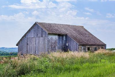 Stone and Wood Barn