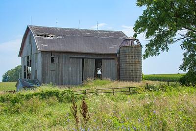 Rustic Barn and Silo