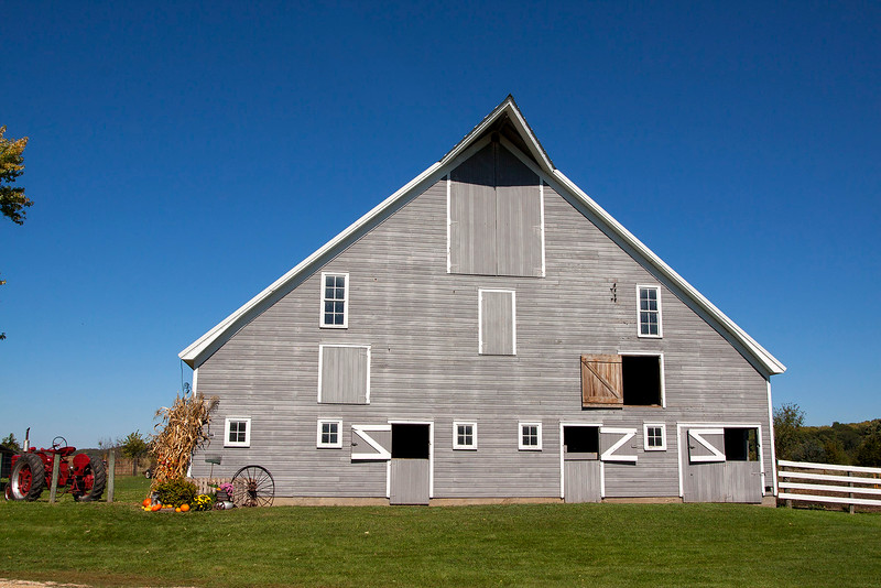 Stromeyer Barn front view .  Jackson County