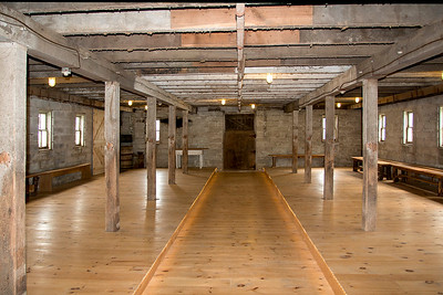 Interior of 1907 Worthwhile Frost Dairy as it looks  today.