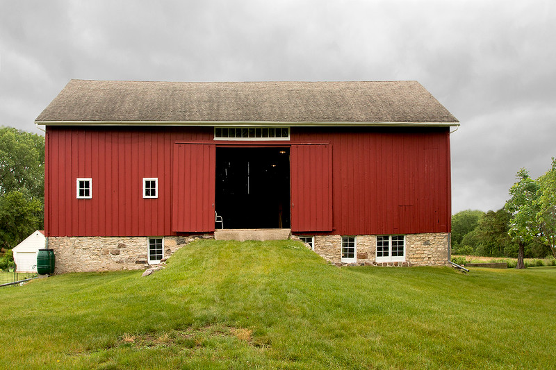 1860 Samuel Rowned Bank Barn