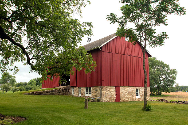 1860 Pennsylvania style bank barn