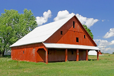 Dutch roof style barn