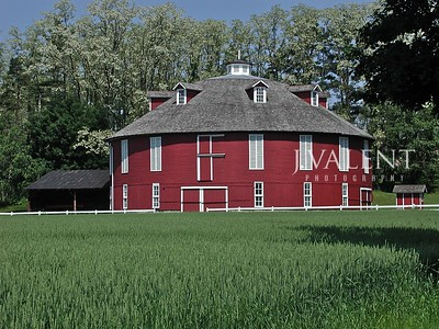 Barns of Pennsylvania - Neff's Round Barn