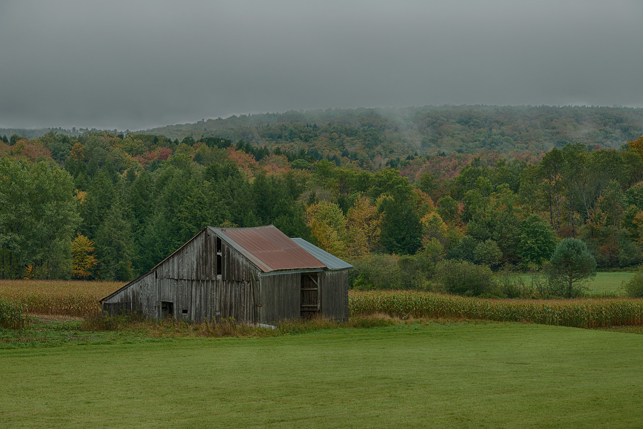 Giles Road Barn in Brookfield, NY
