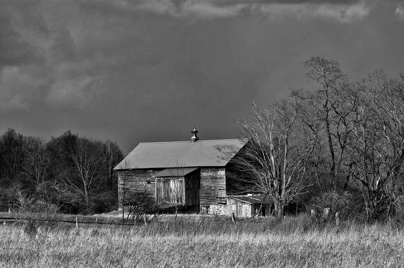 April 4, 2012 - Barn in Brookfield, NY