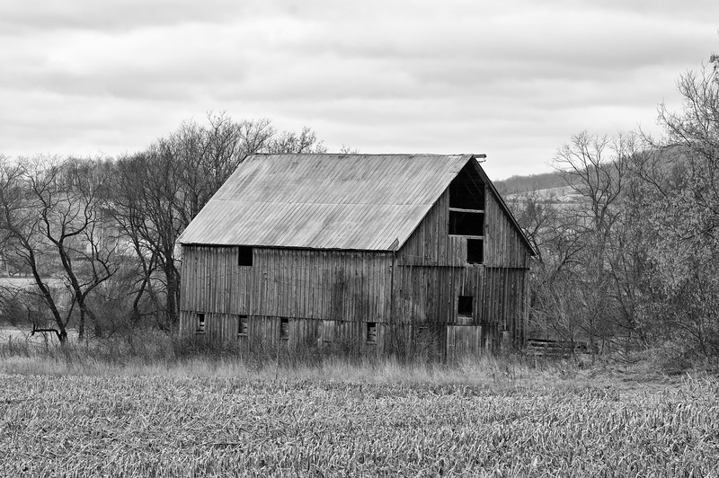 Abandon Farm in the Town of Norwich in the hills of Chenango County.