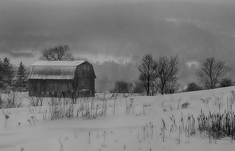 Barn on Academy Road, Brookfield, NY