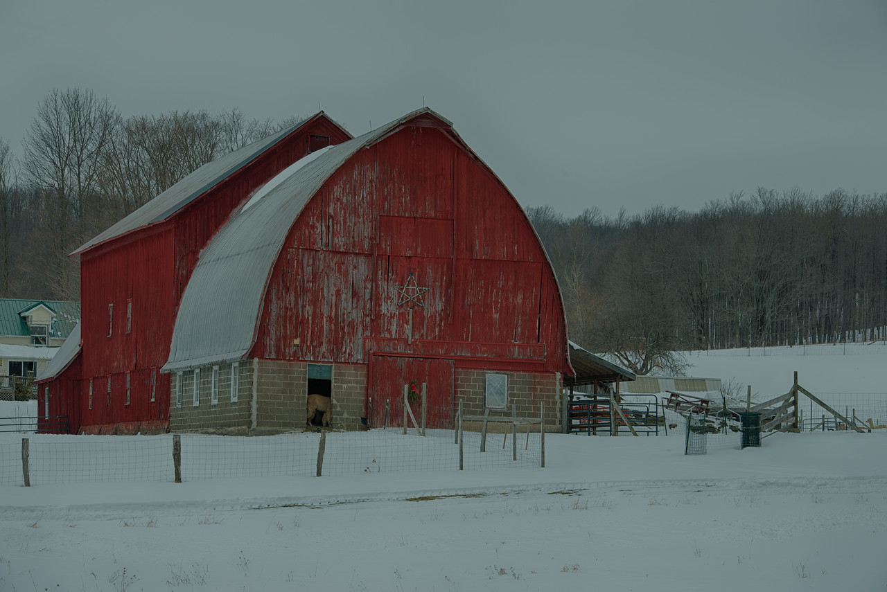 Barn near Summit Lake, Otsego County