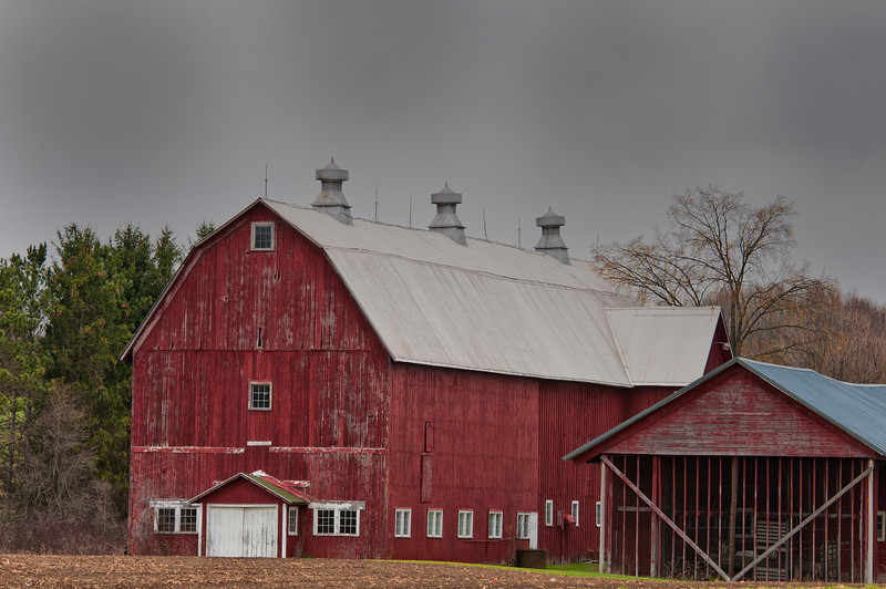 Wilcox Barn River Road, Smyrna, NY