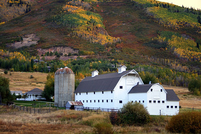 """The White Barn in Park City"""