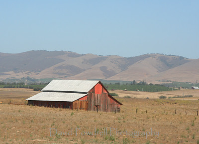 Barn near Cambria