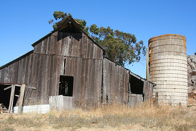 Barn with the silo