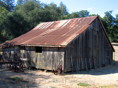 Dry Creek barn.