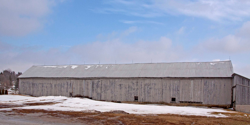 The Kuhstall (workhorse Barn) is in High Amana. The barn built in 1859 is 177 feet long and 35 feet wide.