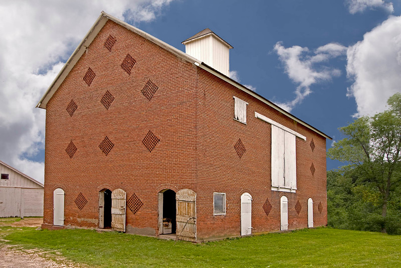 Brick Window Barn
