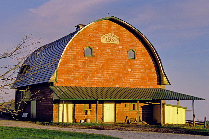 1931 Hollow Clay Tile Gingerich Barn
