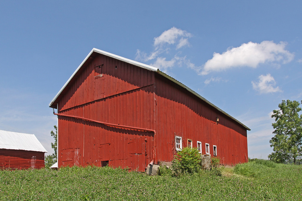 Mulford's 30x67 Civil war barn