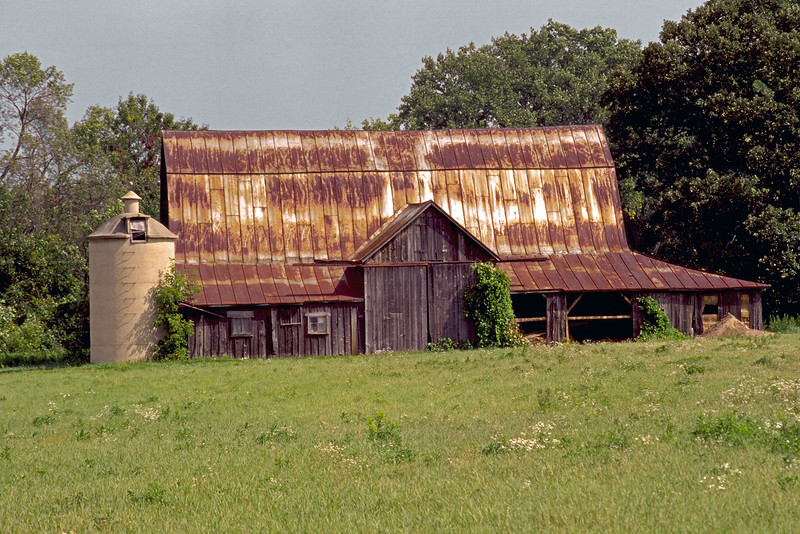 Old metal roof Barn CS2 #9