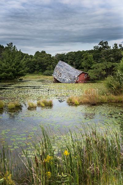 The Sinking Barn