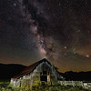 Boxley Valley Barn and the Milky Way