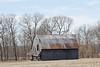 Barn in Illinois in Winter
