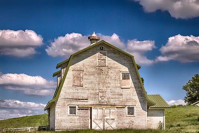 Rural Indiana Barn