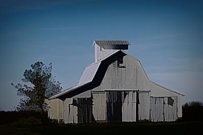 White Barn in IN