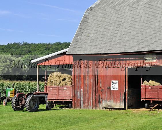 Barns and Tractors