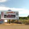 This is it, the Barona Speedway.  It's just 68 miles from our home.