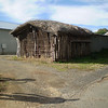 One of the few thatch roofed shed still standing in the Barossa this one is at Bethany
