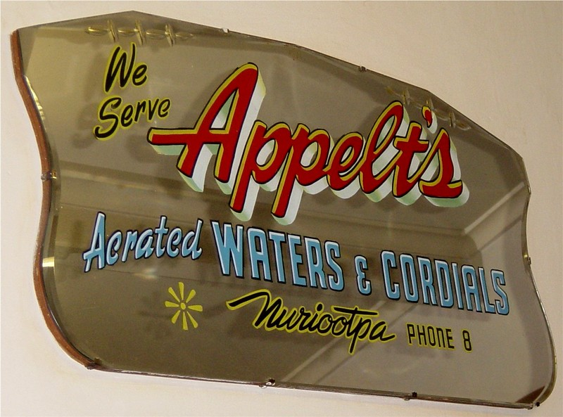 Appelt's Drinks Nuriootpa 1906 - 1975 Opposite the Nuriootpa rail station the site shown on next photo
