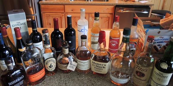 "April 28, 2017. Part 2. ""Barothy Lodge days."" Golf, Cigars, Bourbon Tasting."