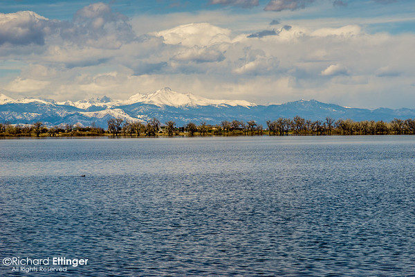 Barr Lake April 2014